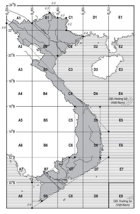 Nội dung lược đồ Việt Nam