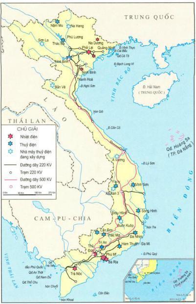 Hình 2.2 - Công nghiệp điện Việt Nam