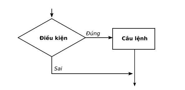 Hình 13: Cấu trúc rẽ nhánh dạng thiếu