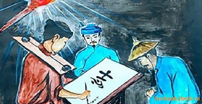 Phân tích một cảnh tượng xưa nay chưa từng có trong truyện Chữ người tử tù - Nguyễn Tuân